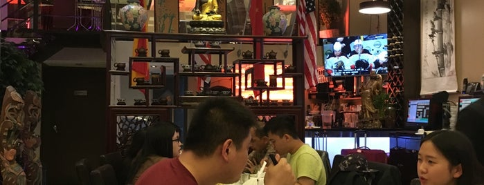 Flaming Kitchen 蜀客 is one of manhattan restaurants.
