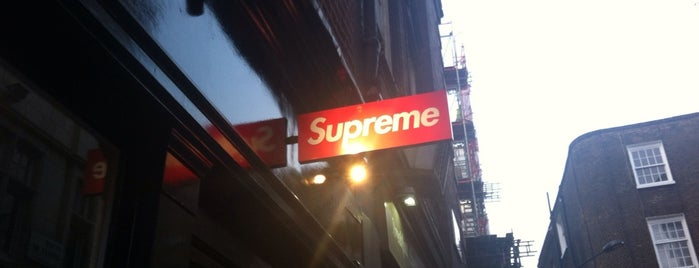 Supreme London is one of London'13.