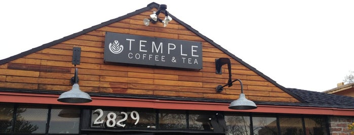 Temple Coffee & Tea is one of My local favorites.
