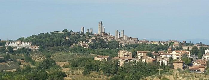 San Gimignano is one of Florenz/ Toskana.