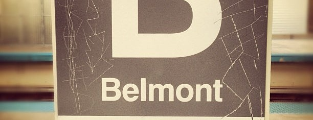 CTA - Belmont (Red/Brown/Purple) is one of Top 10 favorites places in Chicago, IL.