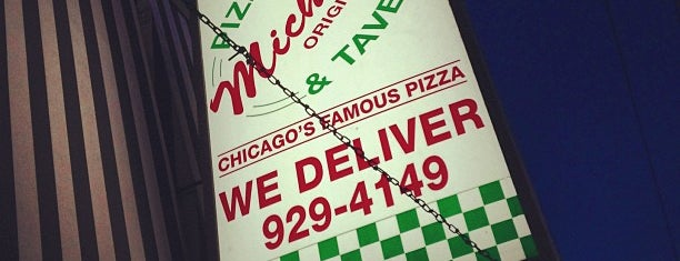 Michael's Original Pizzeria & Tavern is one of Official Blackhawks Bars.