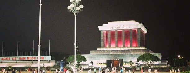 Ho Chi Minh Mausoleum is one of hanoi.