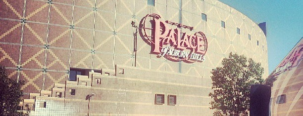 The Palace of Auburn Hills is one of Fun Go-to-Spots.