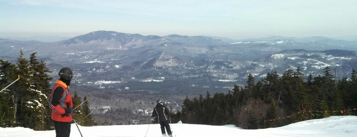 Spruce Peak is one of Full Sunday River Experience.