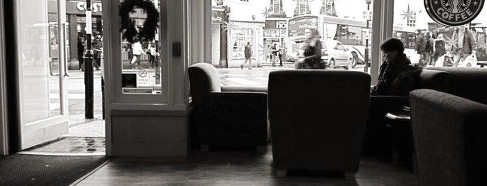Starbucks is one of Cornish haunts.