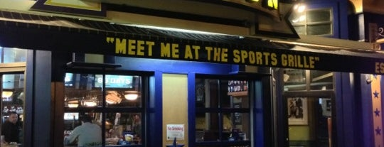 Sports Grille Boston is one of FAVORITE 5 SPORTS BARS IN BOS (2011).