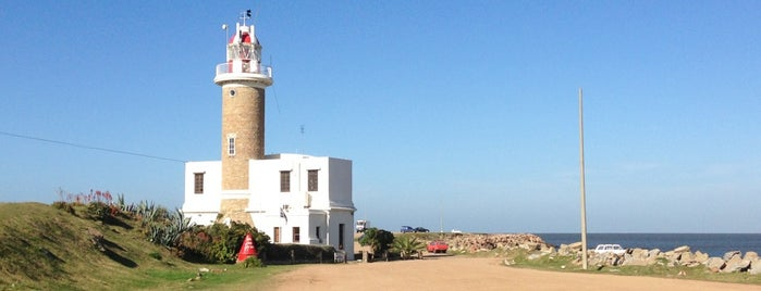 Punta Brava Lighthouse is one of Uruguay Natural.
