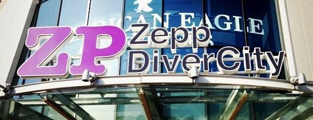Zepp DiverCity Tokyo is one of ライブハウス.