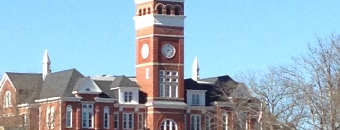 Clemson University is one of NCAA Division I FBS Football Schools.