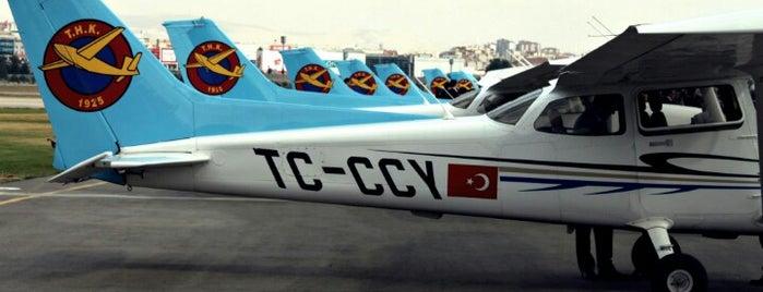 Etimesgut Air Base (ANK) is one of HAVALİMANLARI.