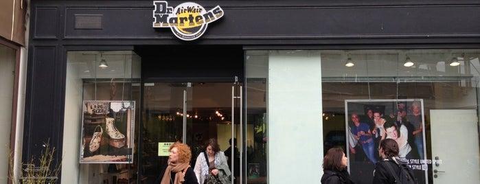 The Dr. Martens Store is one of à Paris.