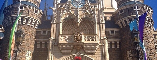 Cinderella's Fairy Tale Hall is one of Disney.