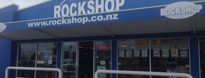 Rockshop New Plymouth is one of New Plymouth To-Do List.