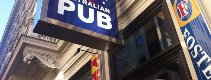 Crossfield's Australian Pub is one of Exotische & Interessante Restaurants In Wien.