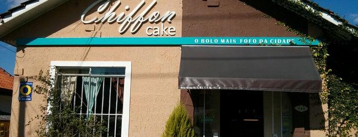 Chiffon Cake is one of Comer, beber e viver Curitiba(continuação).
