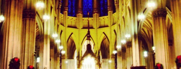 St. Patrick's Cathedral is one of Ferias USA 2012.