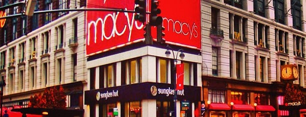 Macy's is one of nyc.