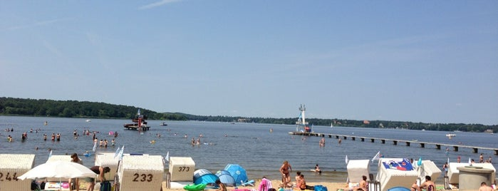 Strandbad Wannsee is one of Berlin parks.