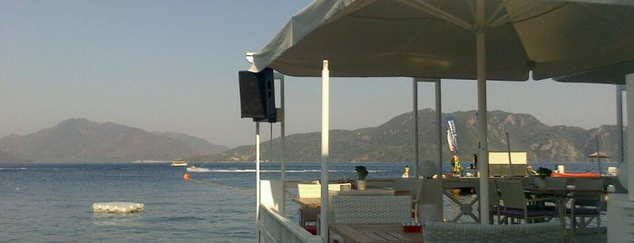 Monte Beach Club is one of Marmaris.
