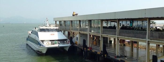 蛇口客运码头 Shekou Ferry Terminal is one of Shenzhen.