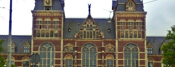 Rijksmuseum is one of Funky Amsterdam.