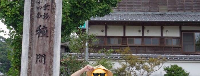 本尾山 朱雀院 種間寺 (第34番札所) is one of 四国八十八ヶ所霊場 88 temples in Shikoku.