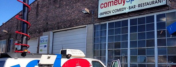 ComedySportz is one of Walker's Point Milwaukee.