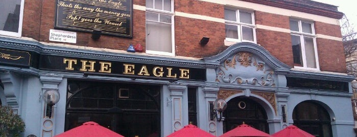 The Eagle is one of Bars.