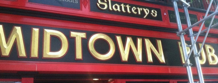 Slattery's Midtown Pub is one of burrs.