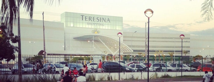 Teresina Shopping is one of Mayor list ;).