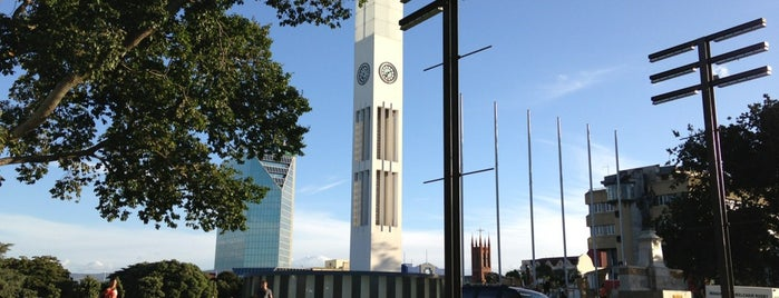 The Square is one of Palmerston North City Heritage Trail.