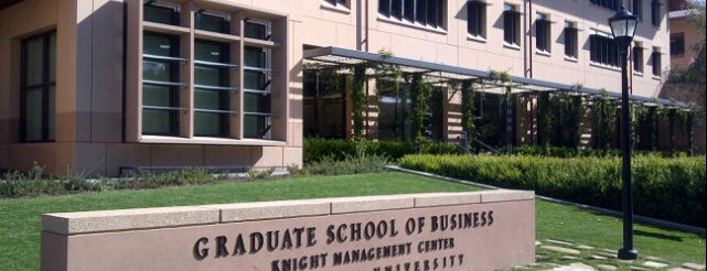 Stanford Graduate School of Business is one of Viagem ao vale.