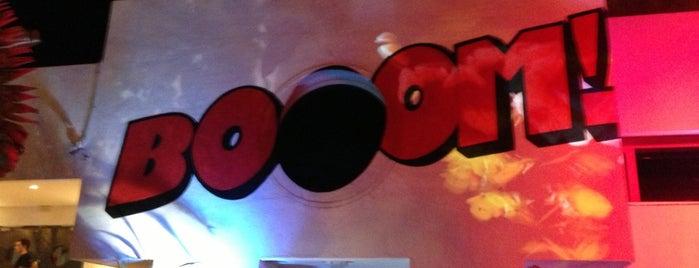 Booom! is one of Ibiza.