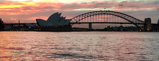 Mrs. Macquarie's Point is one of Oz.