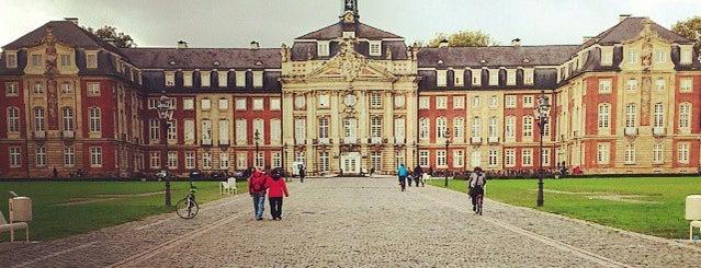 Fürstbischöfliches Schloss is one of Münster - must visit.
