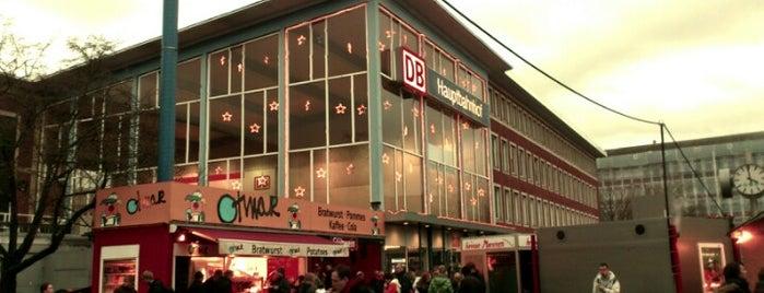 Münster (Westf) Hauptbahnhof is one of Bahnhöfe Deutschland.