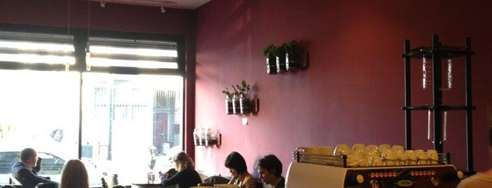 Stanza Coffee Bar is one of San Francisco Caffeine Crawl.