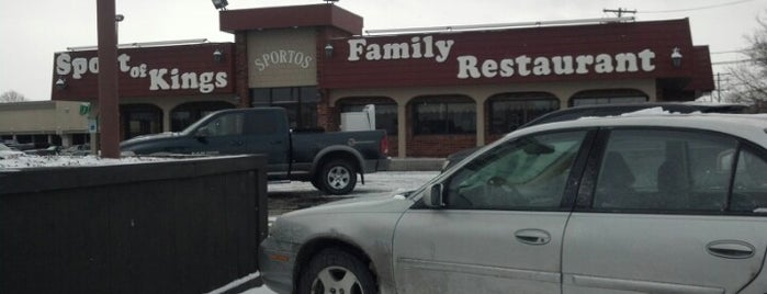Sport of Kings Family Restaurant is one of Diner, Deli, Cafe, Grille.