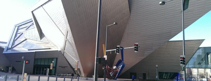 Denver Art Museum is one of The Crowe Footsteps.