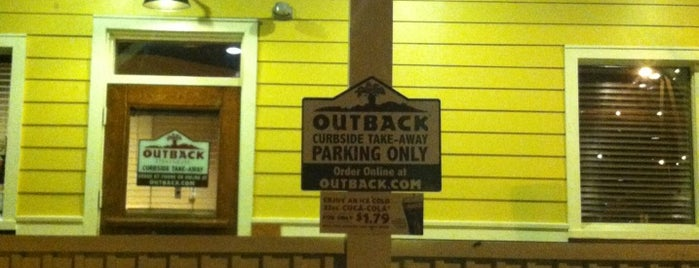 Outback Steakhouse is one of Eats.
