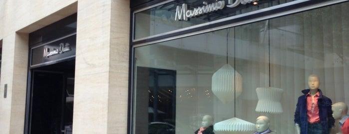 Massimo Dutti is one of Kaufhaus.