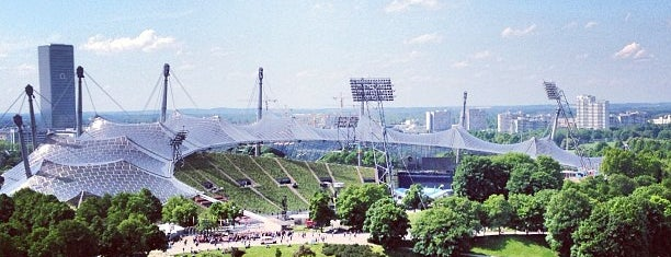 Olympic Stadium is one of Munchen.