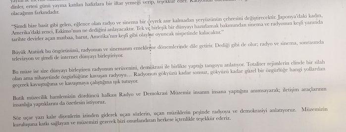 Radyo Ve Demokrasi Muzesi is one of İzmir.