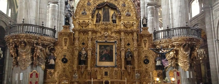 The 11 best monuments and landmarks in mexico city catedral metropolitana de la asuncin de mara is one of the 11 best monuments and landmarks sciox Gallery