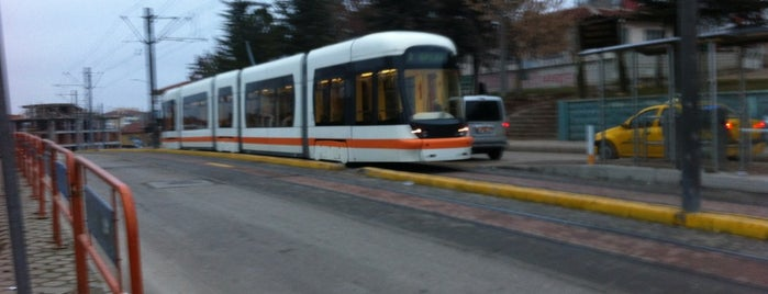 Büyükdere Tramvay Durağı is one of Eskişehir SSK - Osmangazi Tramvay Hattı.
