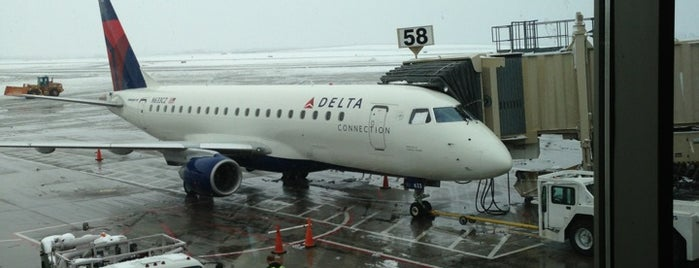 Delta Airlines is one of I been here !.