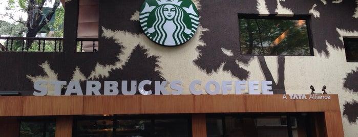 Starbucks Coffee: A Tata Alliance is one of Cafés.
