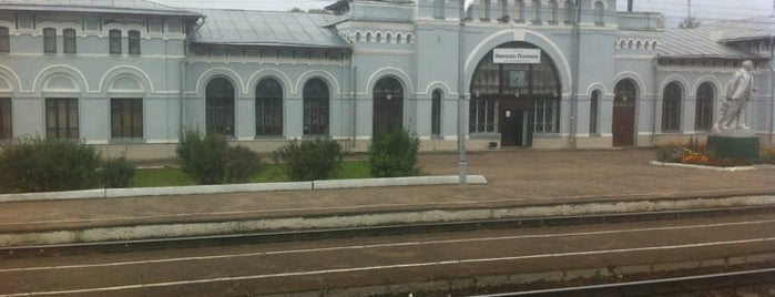 Ж/Д станция Николо-Полома is one of Транссибирская магистраль.