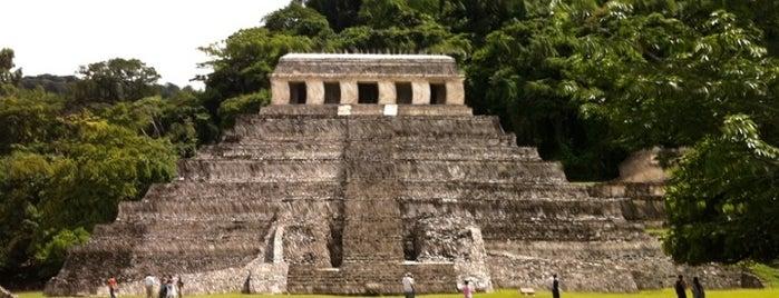 Zona Arqueológica de Palenque is one of MéXICO 360.